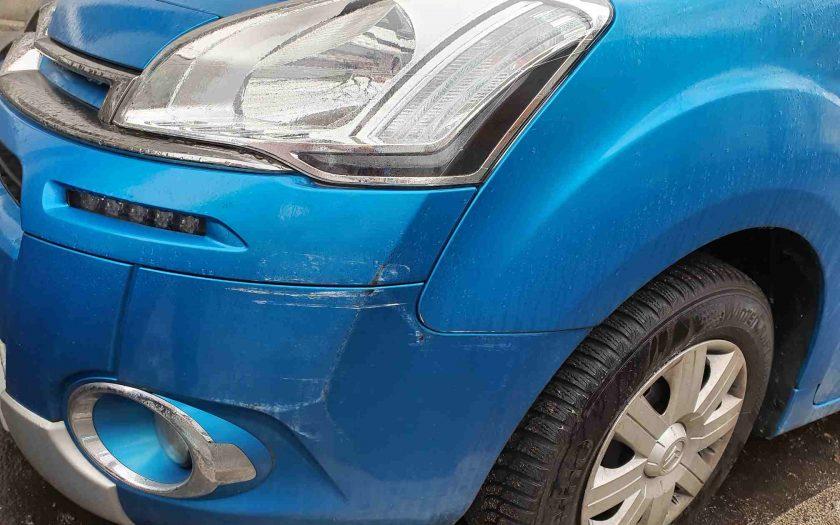 Der Schaden eines Unfallflüchtigen