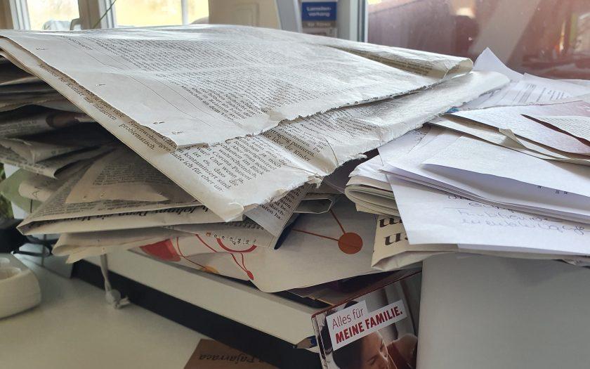 Chaos im Homeoffice