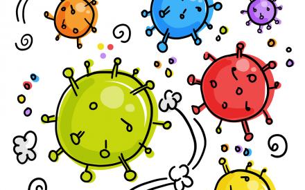 Corona-Virus, Lizenfreies Bild von Pixabay